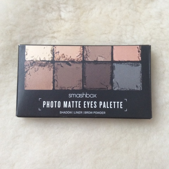 0514a0dfbda9 Smashbox matte eyeshadow pallet